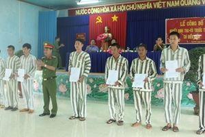Ngày trở về của các phạm nhân hướng thiện tại Tây Ninh