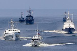 Các tàu tên lửa Nga tấn công 'các tàu chiến của địch' trong cuộc tập trận trên biển Nhật Bản