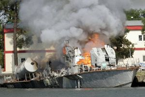 Lộ diện 'tác giả' thực sự đã đánh chìm chiến hạm Gruzia trong cuộc chiến tranh 2008