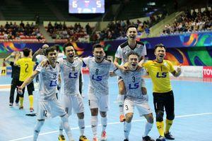 Thua 2-4, CLB Thái Sơn Nam giành vị trí á quân giải futsal CLB châu Á