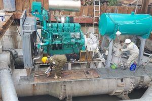 TP.HCM: 'Siêu máy bơm' chống ngập sắp ngừng hoạt động vì đói vốn
