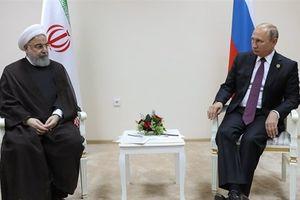 Lãnh đạo Nga-Iran hội đàm song phương bên lề Hội nghị Biển Caspian