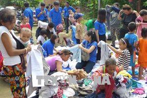 'Chuyến xe tình nguyện' về với đồng bào thiểu số nghèo