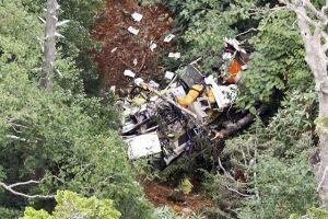 Nhật Bản: 9 người chết trong vụ rơi trực thăng cứu hộ