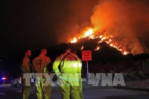 Mỹ: Cháy rừng tiếp tục lan rộng khiến nỗ lực cứu hộ gặp nhiều khó khăn