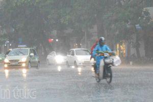 Áp thấp nhiệt đới gây mưa to ở Bắc Bộ và Bắc Trung Bộ, Tây Nguyên - Nam Bộ rải rác có mưa dông