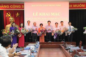 Ban Tuyên giáo Trung ương tổ chức thi tuyển chức danh cán bộ lãnh đạo, quản lý cấp vụ năm 2018