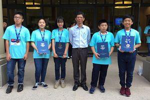 Việt Nam đoạt 5 huy chương tại cuộc thi Toán học thế giới 2018