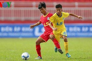 SLNA thắng kịch tính Sài Gòn FC ở khai mạc giải U15 quốc gia