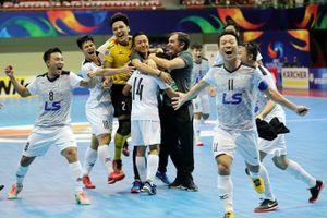 Thái Sơn Nam xuất sắc giành ngôi á quân giải futsal các CLB châu Á 2018