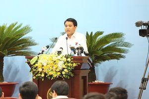Chủ tịch Nguyễn Đức Chung: Hà Nội kiên quyết thu hồi các dự án chậm triển khai