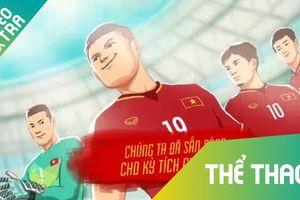 Clip cổ vũ U23 trước thềm ASIAD của họa sỹ Việt Nam