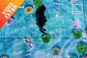 Bảo tàng Nhật đem công nghệ hình ảnh kỳ ảo trong trưng bày
