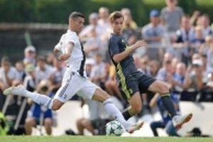 Ronaldo ghi bàn thắng đầu tiên trong màu áo Juve