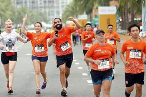 Sôi động Cuộc thi Marathon Quốc tế Đà Nẵng 2018