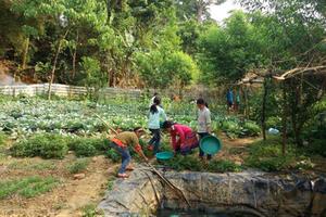 Nước sạch trường học: Trăn trở từ những vùng đất khát