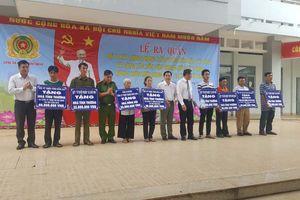 Công an H.Định Quán phát động phong trào toàn dân bảo vệ ANTQ