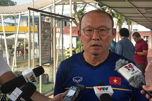 HLV Park Hang Seo: 'U23 Việt Nam không muốn CĐV Việt Nam thất vọng!'