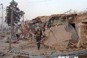 Đánh bom liều chết tại trụ sở Ủy ban Bầu cử Afghanistan