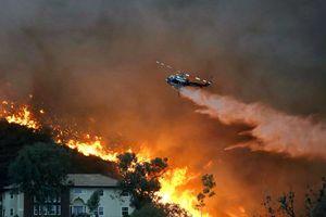 Mỹ: Hàng nghìn người sơ tán do cháy rừng lan tới khu dân cư