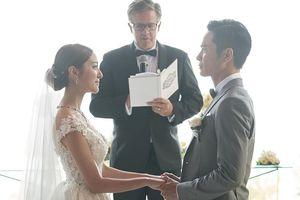 Cận cảnh đám cưới cổ tích của tài tử TVB Trịnh Gia Dĩnh