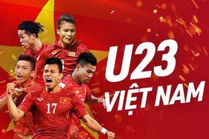 Hot: NHM có thể xem trực tiếp U23 Việt Nam trên Internet