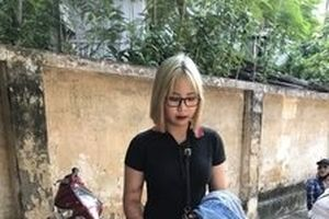 Thiếu nữ 15 tuổi tông cảnh sát cơ động gãy chân, đăng Facebook cầu cứu