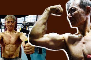 Cụ ông 70 cơ bắp cường tráng thanh niên phải ngưỡng mộ nhờ làm điều này suốt 10 năm