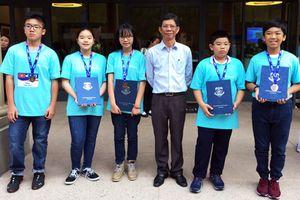 Olympiad Toán học thế giới năm 2018: 5 học sinh Việt Nam đoạt huy chương