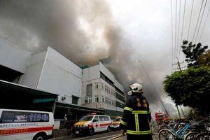 Cháy bệnh viện ở Đài Loan, ít nhất 9 người thiệt mạng