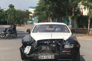 Tai nạn Rolls-Royce biển 'khủng' và CRV: Báo giá sửa chữa 3 tỷ đồng