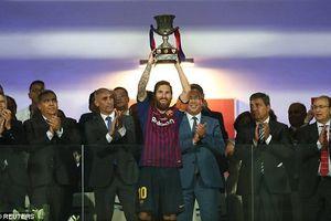 Thắng nghẹt thở Sevilla, Barcelona giành Siêu Cup Tây Ban Nha