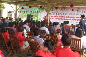 Quảng Bình: Khánh thành 3 phòng học nhân đạo