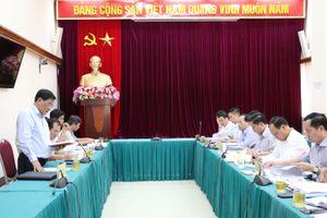 Bộ trưởng Nguyễn Văn Thể làm việc với Lãnh đạo tỉnh Vĩnh Long