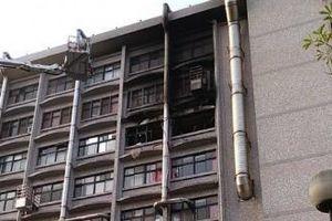 Cháy lớn tại bệnh viện ở Đài Loan (Trung Quốc), 25 người thương vong