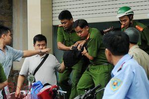 Bắt giữ nghi can cướp ngân hàng VietinBank ở TP Hồ Chí Minh