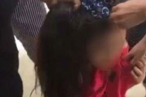 Quảng Ninh: Xôn xao cô gái trẻ bị cắt tóc đánh ghen giữa đường