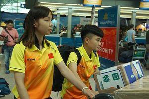 Đội tuyển nữ Việt Nam suýt không có chỗ ngủ khi tới Indonesia dự ASIAD