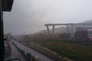 Cầu gần 60 năm tuổi bất ngờ sập trên tuyến cao tốc chính