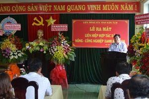 Kon Tum: Ra mắt Liên hiệp Hợp tác nông - công nghiệp xanh đầu tiên