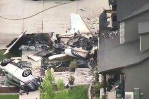 Mâu thuẫn với vợ, nam phi công Mỹ trộm máy bay lao thẳng vào nhà riêng