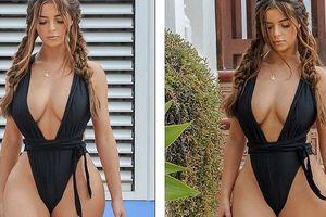 'Kim Kardashian Anh quốc' Demi Rose phô 3 vòng trứ danh cực gợi tình