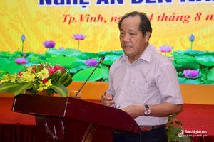 Ông Hồ Xuân Hùng: Nghệ An nên phát triển nông nghiệp 'sạch - an toàn - công nghệ cao'