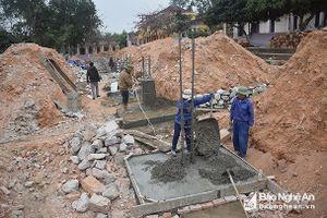 Nghệ An còn nợ xây dựng nông thôn mới 42 tỷ đồng
