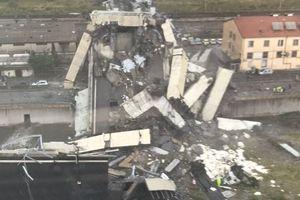 Thảm kịch sập cầu đường bộ tại Italy, hàng chục người chết
