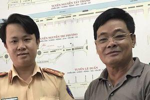 Người dân viết thư cảm ơn đại úy lên facebook tìm chủ mất tài sản