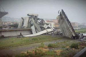 Sập cầu đường bộ tại Italia, hàng chục người thiệt mạng