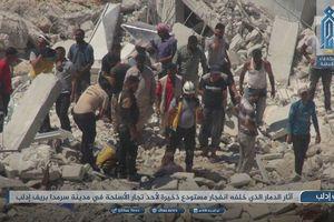 Nổ kho vũ khí khủng tại Syria, hàng chục người chết