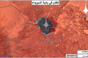 Quân đội Syria vây khốn khủng bố trong hẻm núi, IS đòi thỏa thuận thả con tin