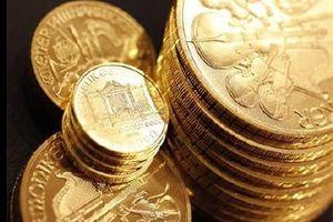 Giá vàng châu Á tăng từ mức thấp nhất 18 tháng